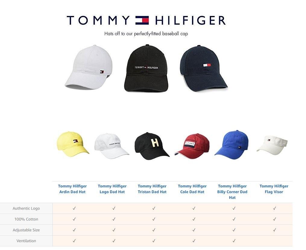 502e31b0 Publisher : Tommy Hilfiger -. Studio : Tommy Hilfiger -. Title : Tommy  Hilfiger Men's Logo Dad Baseball Cap